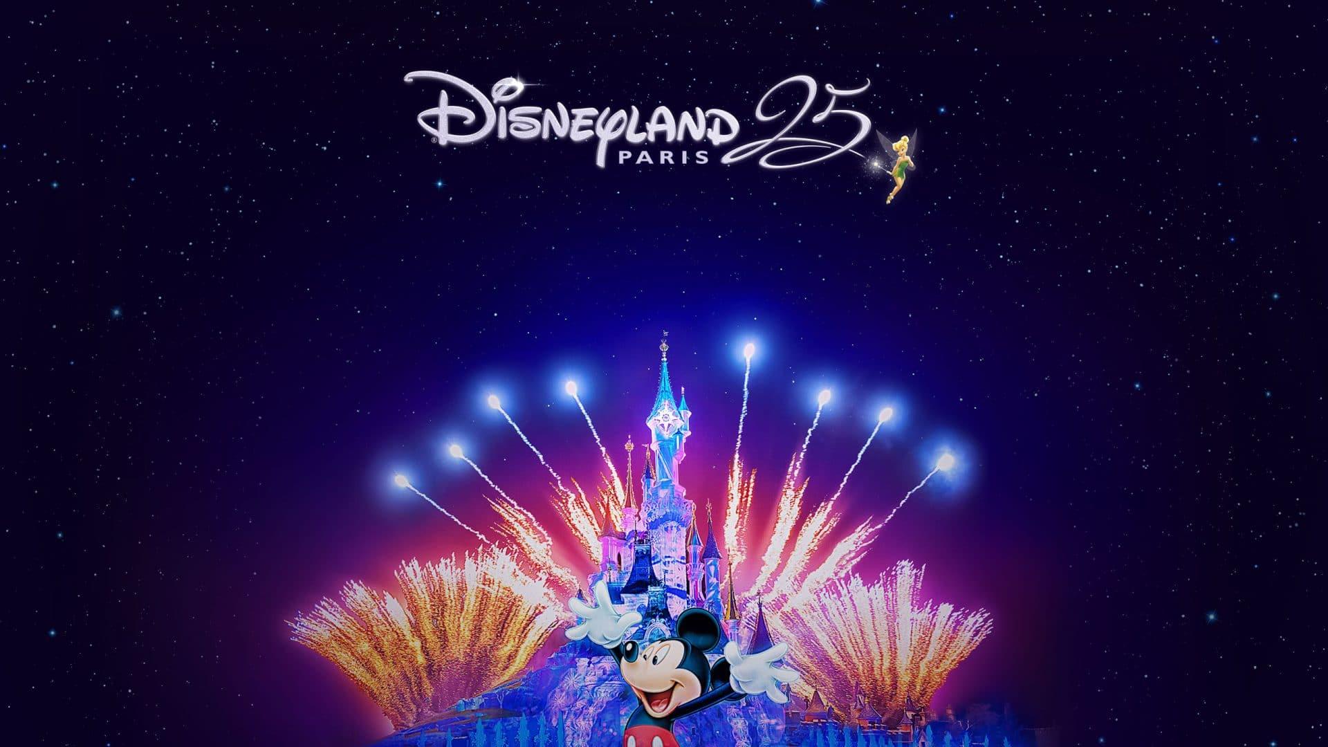 25 ième anniversaire en 2017 de Disneyland Paris
