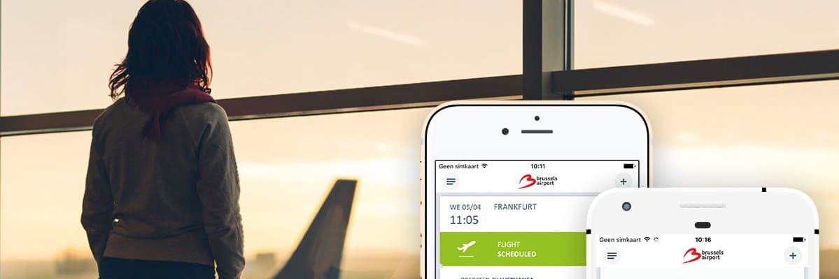 Brussels Airport Application