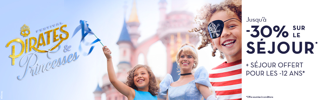 Disneyland Festival Pirates et princesses