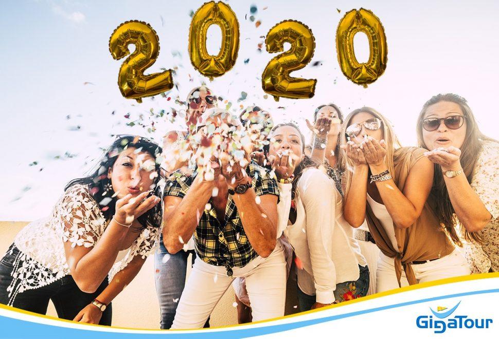 Bienvenue à bord e l'année 2020
